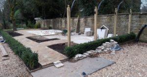 Mid way through building a garden entertainment space