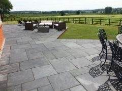 Beautiful slate patios